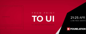 Educ.ation course: From Print to UI Design  | paso.gr